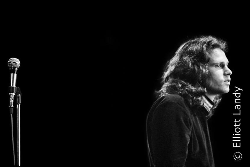 Jim Morrison, The Doors, Fillmore East, NYC, 1968. Photo By ©Elliott Landy, LandyVision Inc.