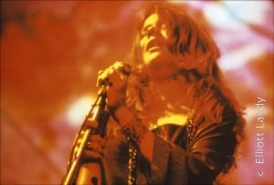 Janis Joplin, Big Brother and The Holding Company. Joshua Light Show, Anderson Theater, NYC, 1968. Photo By ©Elliott Landy, LandyVision Inc.
