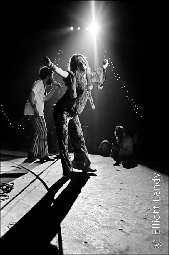 Janis Joplin, Woodstock Festival, Bethel, NY, 1969. Photo By ©Elliott Landy, LandyVision Inc.