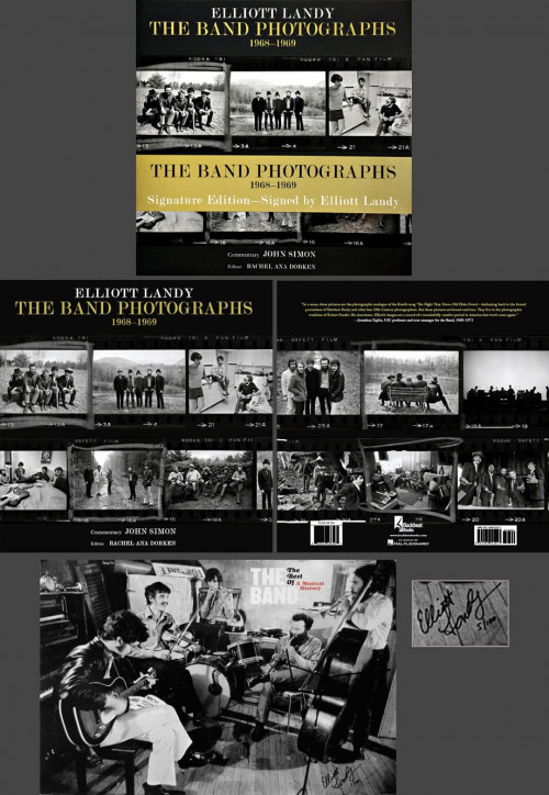 The Band Photographs Book