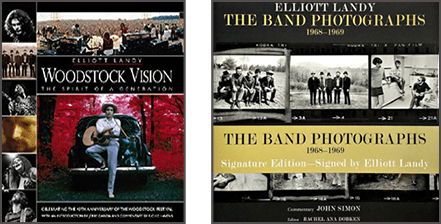Elliott Landy Autographed Books