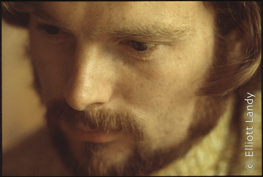 Van Morrison, Woodstock, NY, 1969, 'Moondance' album cover shot. Photo By ©Elliott Landy, LandyVision Inc.
