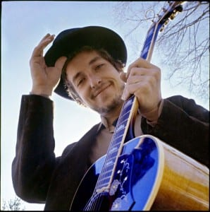 Bob Dylan, at his Byrdcliffe home