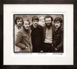 The Band Print framed