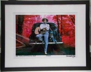 Bob Dylan Print Framed