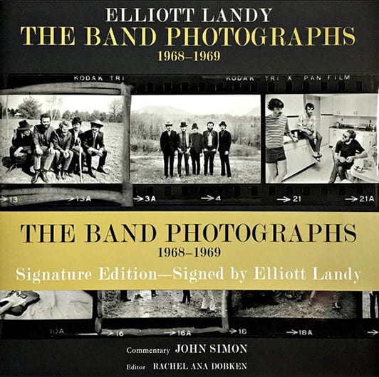 Elliott Landy The Band Photographs