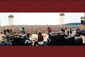 postcar Elliott landy woodstock 1969