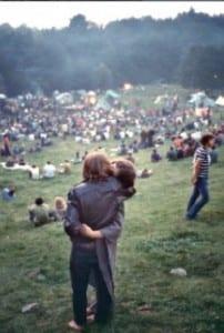 postcar Elliott landy woodstock 1969