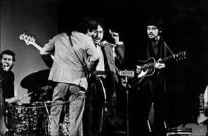 Bob Dylan Prints with The Band, Woodie Guthrie Memorial Concert, Carnegie Hall, NYC, 1968. Levon Helm, Rick Danko, Robbie Robertson, Richard Manuel, Garth Hudson.